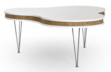 Soffbord Treklöver i modern design med retrokänsla.