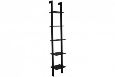 Bokhylla Klippan 33 cm. Svart vägghängd hylla till ett bra pris. Storlek: 33x25 cm, höjd 189 cm.