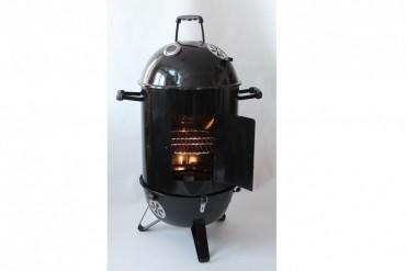 BBQ Smoker är en kvalitetsrök, eldas med kol eller briketter. Grillyta: Ø45 cm