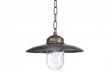 Lampa Landes koppar/brons, handtillverkad taklampa i koppar och brons. Kopparlampa i industristil! Bredd: 31 cm i diameter.