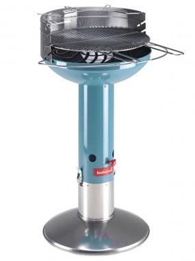 Kolgrill Major Limited Edition i färgen Lagoon från Barbecook. Lätt att tända och släcka, grillklar på 15 min! Grillyta: Ø50 cm.
