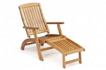 Däckstol Tranvik, klassisk solsäng i honungslaserat svensk trä. Komplettera med dyna!