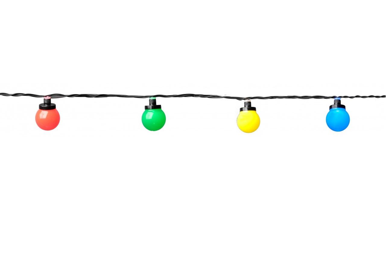System 24 Party Light 10 Led Kulor Opal Farg Extra