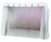 Möbelskydd för hammock i transparent PVC-behandlad plast. Praktiskt hammockskydd! Mått: 220x135 cm.