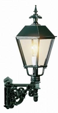Utelampa Zandvoort i klassisk stil. Handtillverkad högkvalitativ utelampa, höjd 70 cm.