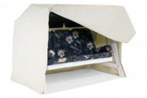 Hammockskydd, regnskydd för hammock i beige polyester.