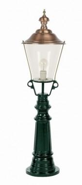 Utelampa Timor i klassisk stil. Handtillverkad högkvalitativ utelampa, höjd 105 cm.