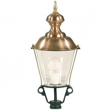 Grindlykta, utelampa i koppar och aluminium i klassisk stil. Exklusiva handtillverkade utelampor online!