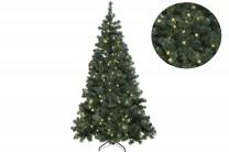 Julgran Ottawa i grön med LED-belysning. Konstgran inne eller ute! Finns i flera storlekar: 1,5 m. Plastgran med belysning.